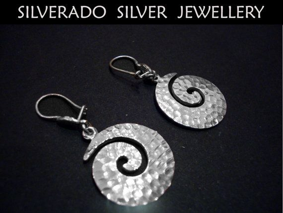Sterling Silver 925 Greek Swirl Spiral by SilveradoJewellery, €45.00