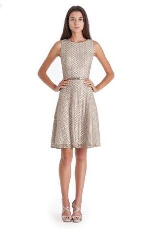 Superb Great Mother us dress for a country chic wedding Gleaming printed cocktail with belt accent