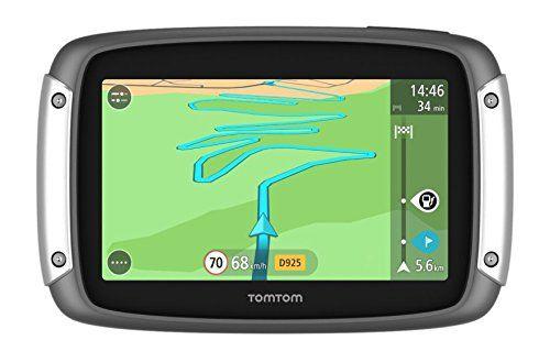 Tomtom – 1GE0.054.00 GPS Moto Rider Europe Carte (Produit Import): Ecran tactile capacitif de 4,3 pouces offrant une très bonne visibilité…