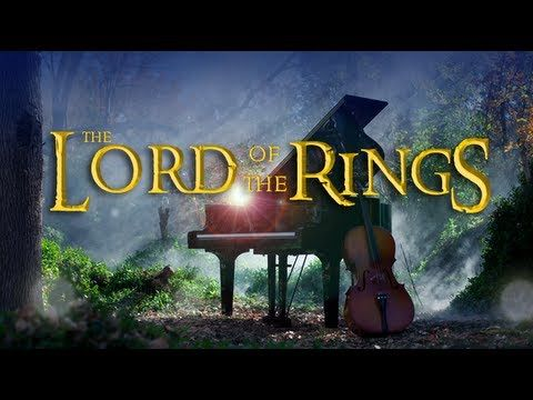 Lord of The Rings - The Hobbit (Piano/Cello Cover) - ThePianoGuys. I cannot watch this and NOT cry.