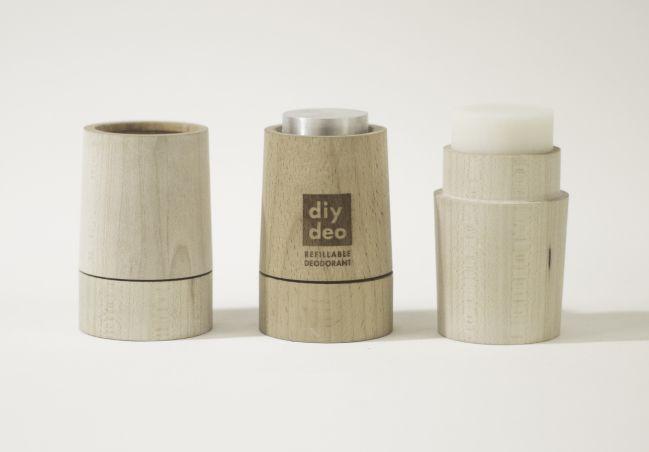 Refill deo, refillable deodorant, zero waste lifestyle