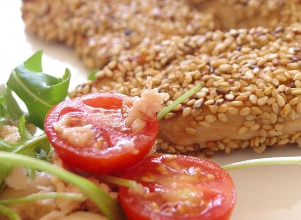 Pollo con sésamo: http://pollo-con-sesamo.recetascomidas.com/ - #recetas #recipes