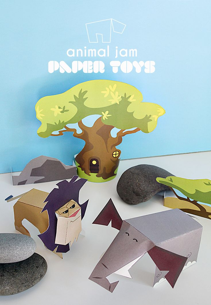 National Geographic Kids Animal Jam – Online Games for Kids – DIY Printable Toys   Small for Big