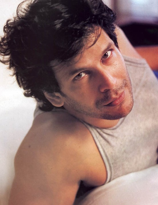 Milind Soman. Mom might want to keep this boy for herself!