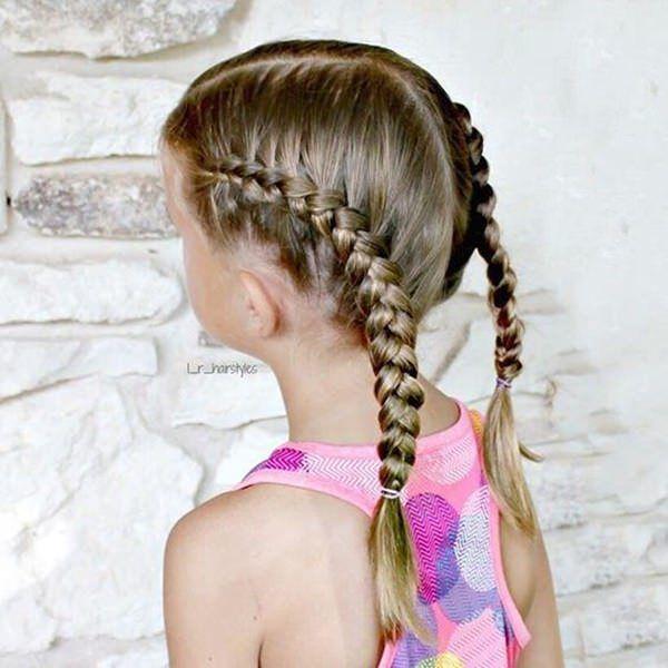 Braids For Kids Flawless Braided Hair For Little Girls Little Girl Braid Hairstyles Hair Styles Little Girl Braids