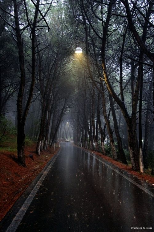 Rainy Day, Rhodes, Greece