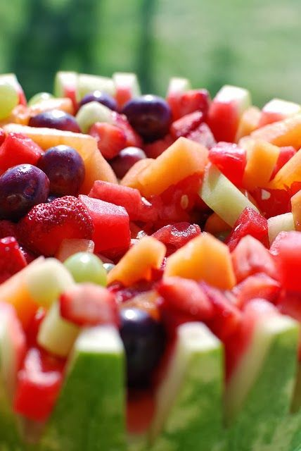 Recipe   15 Irresistible Healthy Fruit Salads ... #holiday favorite #mother's day