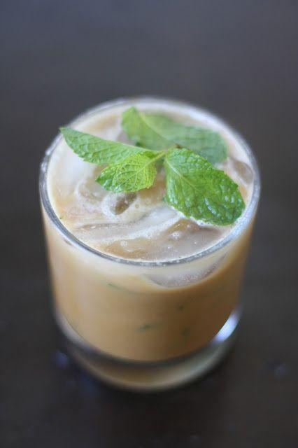 Mint Mojito Iced Coffee by weekofmenus #Iced_Coffee #Mint_Mojito