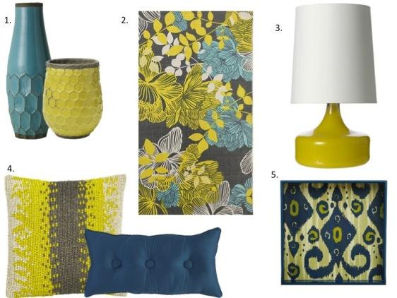 Home Decor Yellow Amp Turquoise Www Eatshoplivenyc Com