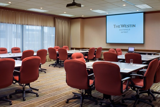 Westin Southfield Detroit Hotel EMC Room I: Meeting Center, Southfield Detroit, Emc Rooms, Hotels Emc, Westin Southfield, Executive Meeting, Detroit Hotels