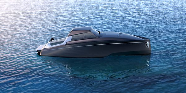 Classic Contrast Drop-Top Yacht Concept by Reversys Boat