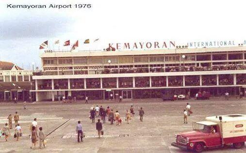 Djakarta Tempoe Doeloe - Kemayoran Airport 1976