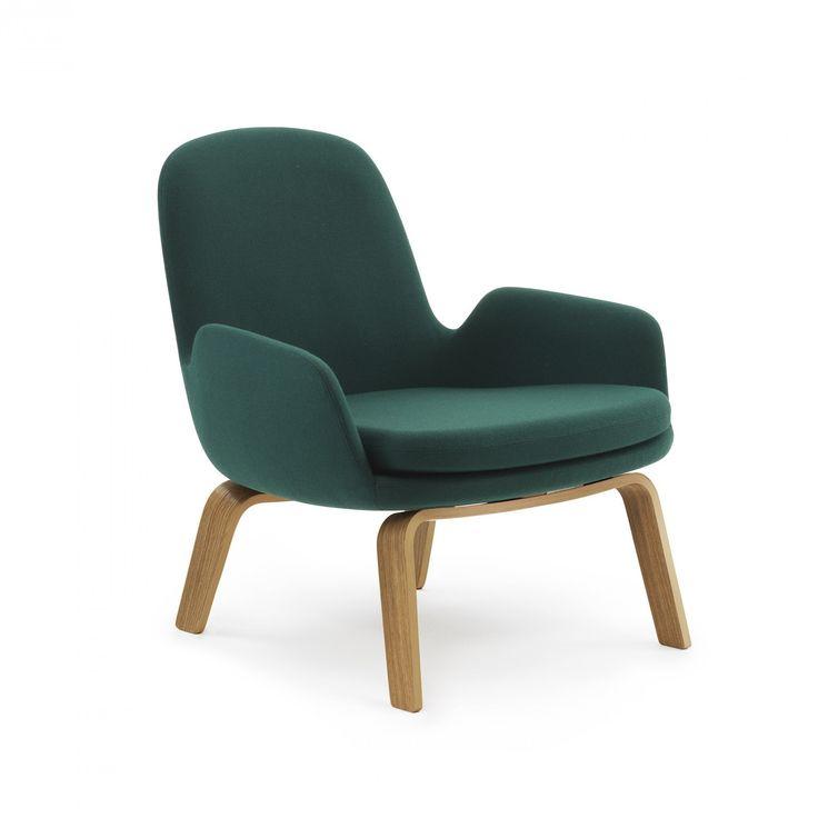 Normann Copenhagen Era Lounge Chair Low - Wood Legs - Lounge Chairs - Living