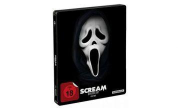 [Angebot]  Scream 1-4  Quadrilogy  Steelbook [Blu-ray] für 2849