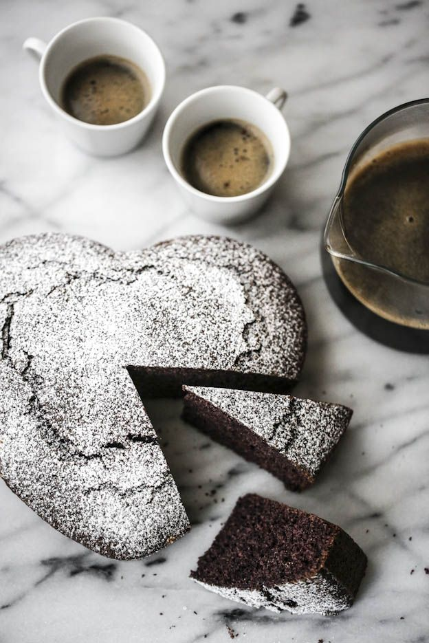 Torta per due: gluten free con farina di riso venere e vaniglia, by Vanigliacooking