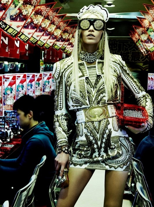 Aline Weber by Giampaolo Sgura for Vogue Japan April 2012.