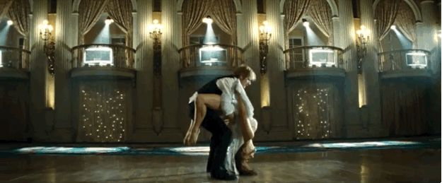 Especially when he starts doing lifts and showing off.   Watch The Impossibly Romantic Video For Ed Sheeran's New Single