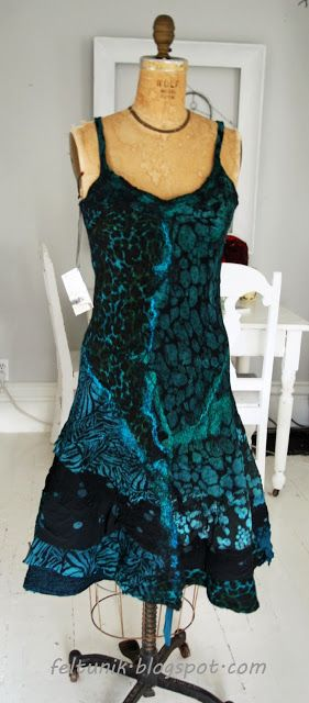 Feltunik: Another dress. I find that the time and material c...