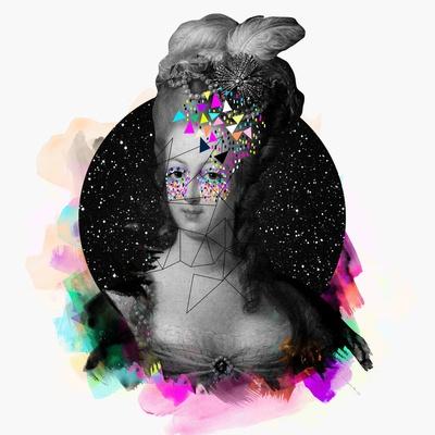 Kris Tate: Mary Antoniett, Colour Art, Marie Antoinette, Illustration, Art Prints, Graphics Design, Kris Tate, Collage, Mary Antoinette