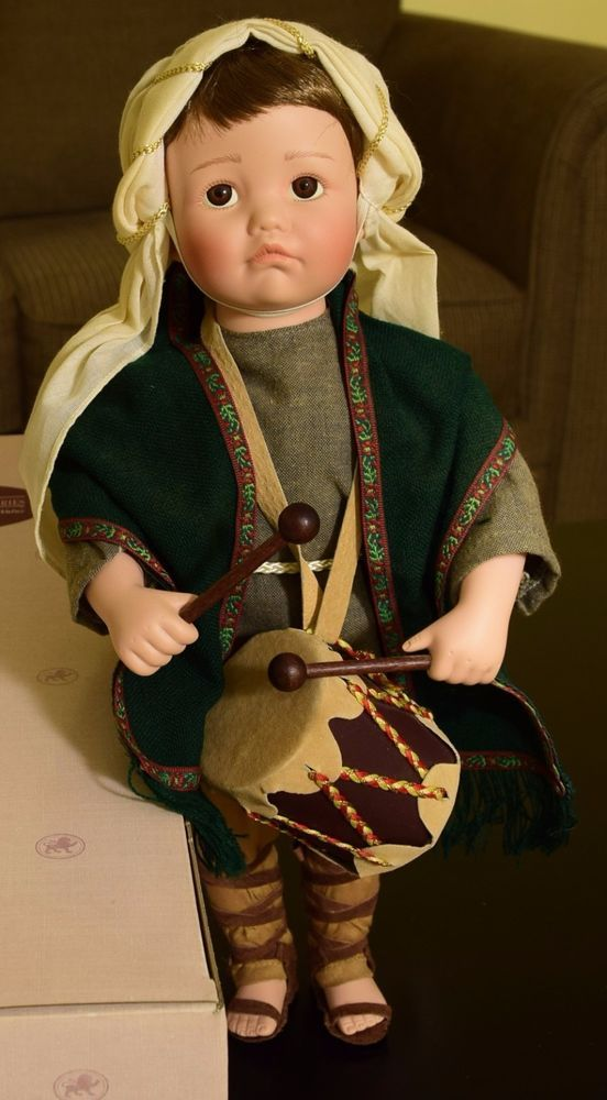 """The Little Drummer Boy""  Collector Doll by Ashton-Drake #AshtonDrake #DollswithClothingAccessories"