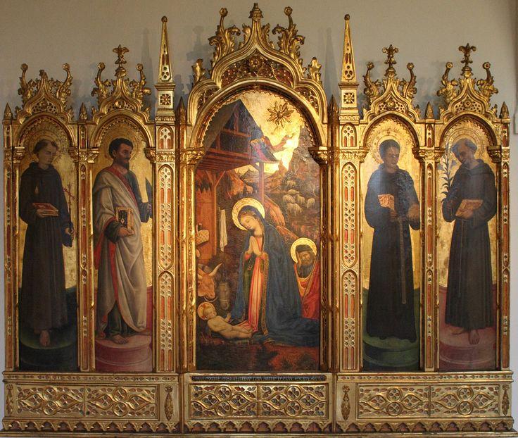 Polyptych of the Adoration and Saints  Antonio Vivarini, 1447