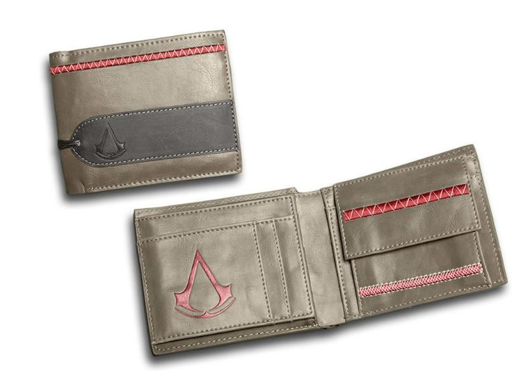 Billetera Assassin Creed, logo Tri-fold