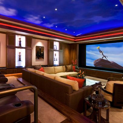 Media Room Design Ideas, Pictures, Remodels And Decor. Home Theater ...