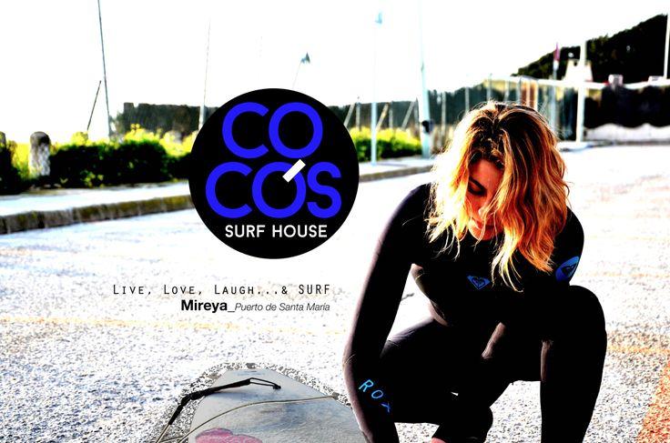 """Cada vez más satisfechos con nuestro equipo.  Hoy os presentamos a Mireya, del Puerto de Santa María: """"Surf para mí no es sólo una palabra. Es todo un significado...S: Satisfacción, U: Único, R: Respeto y F: Felicidad""""  ...Y para nosotros es un placer tenerte entre nuestras colaboradoras!  #cocosteam #cocossurfhouse #sanjuandelaarena #alohate #asturias #surfgirl"""
