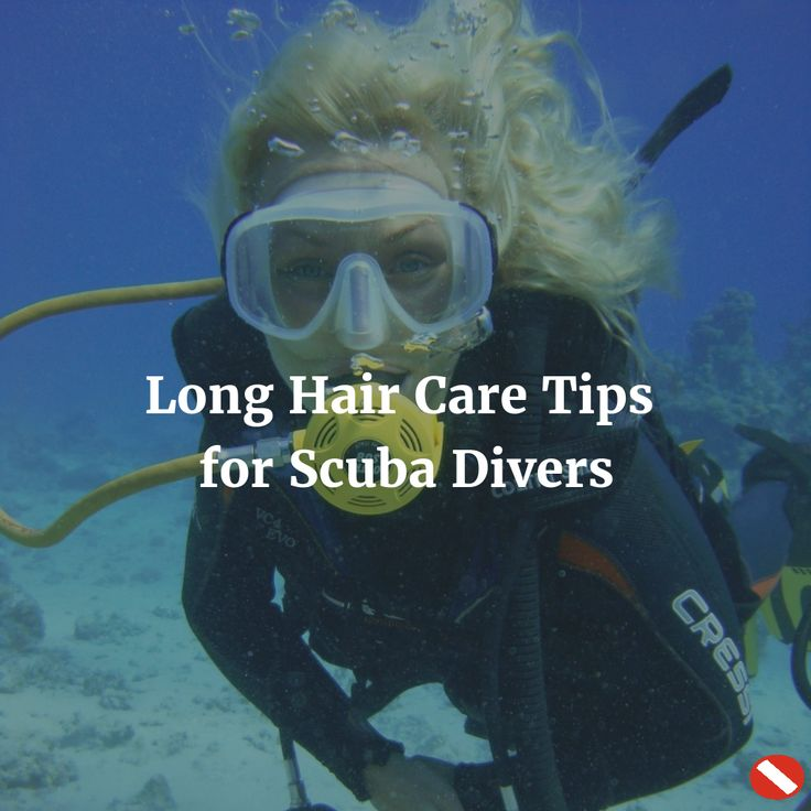 This post will help keep your mane magnificent no matter how much you dive!