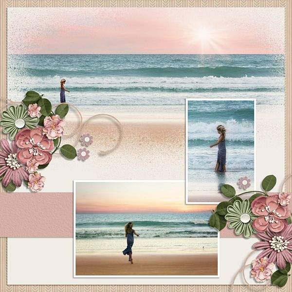 Ocean Dream - Nature - Gallery - Scrap Girls Digital Scrapbooking Forum