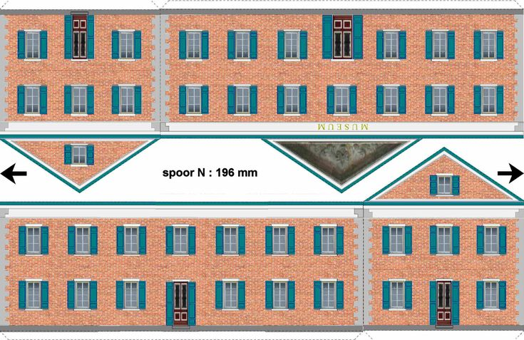 Delicate image intended for free printable ho scale buildings