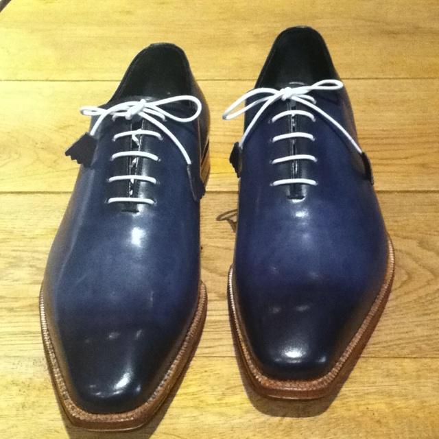 Handgemaakte op maat gemaakte schoenen van Greve. Exclusief bij Edgar N. Tailormade!
