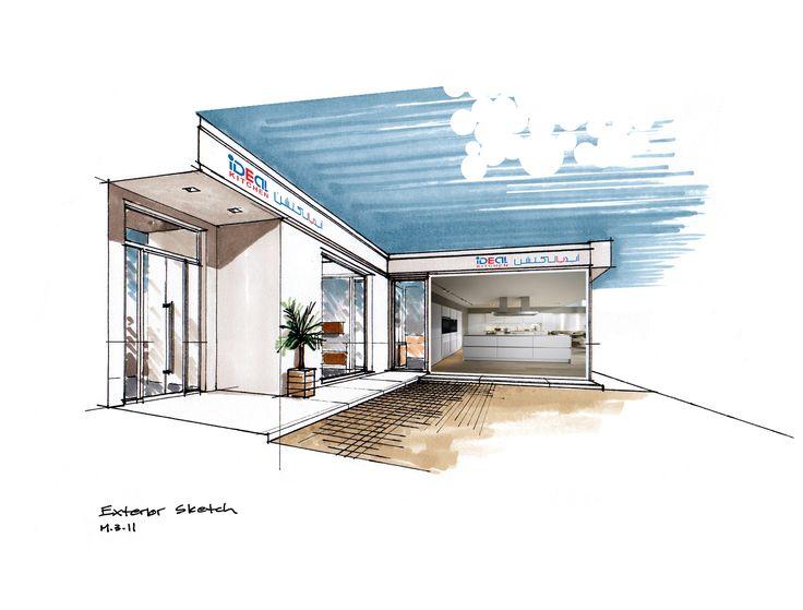 Interior Design Sketches Kitchen 80 best interior sketch images on pinterest   interior design