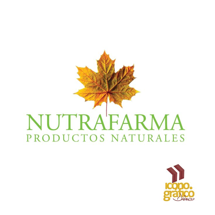 Logotipo, productos naturales