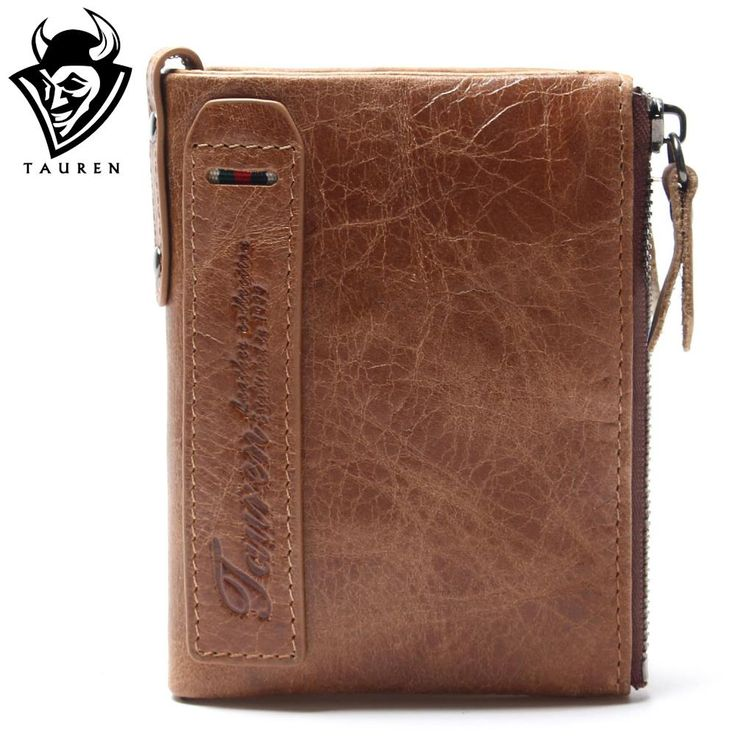 HOT!!! Genuine Crazy Horse Cowhide Leather Men Wallet Short Coin Purse Small Vintage Wallet Brand High Quality Vintage Designer