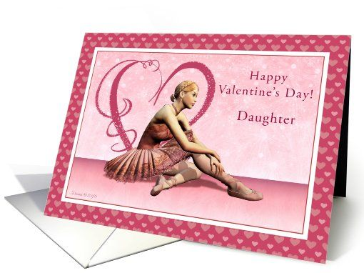 valentine card daughter