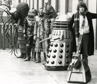 Dalek 6388 - A History of the Dalek Props from 1963 to 1988 and Beyond - Mid-Seventies Daleks