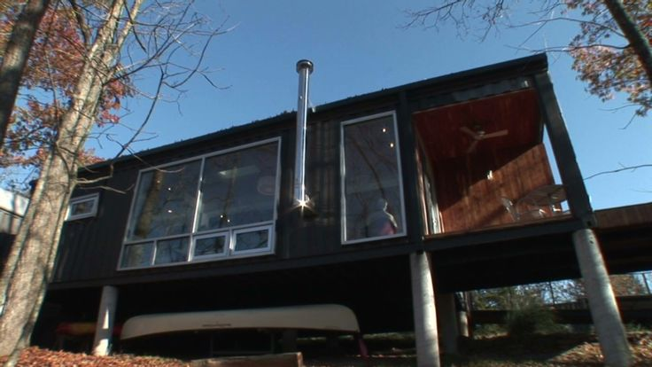 Rustic shipping container homes of 150 000 marti montgomery used shipping containers to - Shipping container homes toronto ...
