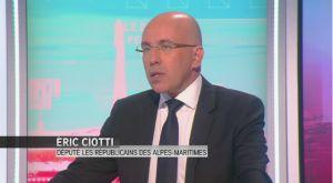 Eric Ciotti :  Bayrou est l'expert en trahison, en compromission - L'invité de Laurence Ferrari – iTELE