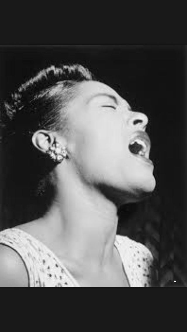 "Billie Holliday ""Lady sings the blues"""