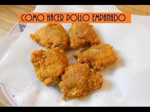 pollo crujiente estilo popeyes - YouTube