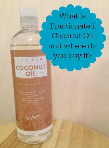 Fractionated Coconut Oil Uses – MomPrepares