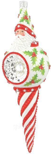 Cullen Claus (Holly)  Patricia Breen Designs (Santa, Red, Green, White/Pearl, Striped)