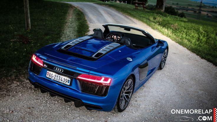 Ein Audi R8 V10 Spyder mit 540-PS-Mittelmotor, quattro-Antrieb, einer Leichtbaukarosserie aus Carbon und Aluminium und neuen Performance-Modi. Kurzum: Er ist so fantastisch, wie sich diese Zutaten lesen.