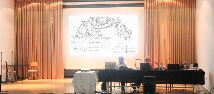 Presentación Coloquio Fac. Arte U. de Chile  Junto Ariel Pereira