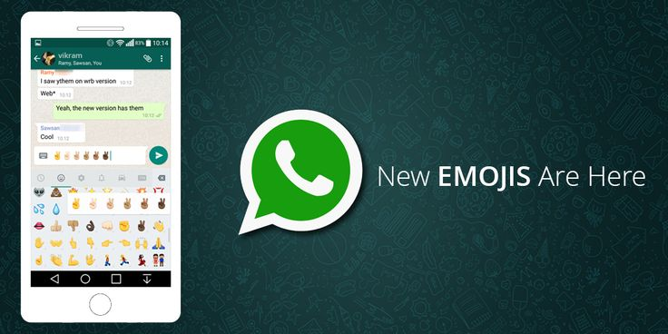 It's time to tell you about the latest. Yes, it's here!!! The Whats App for Android update brings custom notifications settings for individual contacts or groups. The update also brings new emojis to Whats App. Users can tap and hold onto an emoji to choose a different color.  #whatsapp #android #androidapps #emojis #emotions
