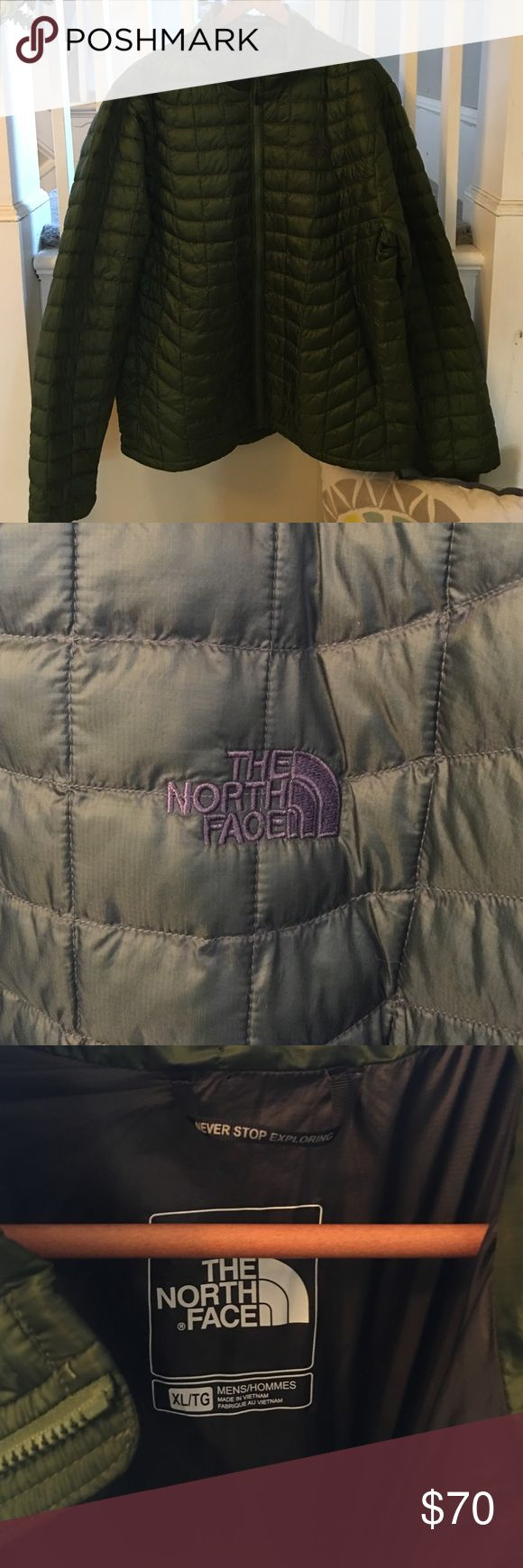 North Face Men's Thermoball Jacket. Like new This jacket is like new. Size XL. North Face Jackets & Coats Puffers