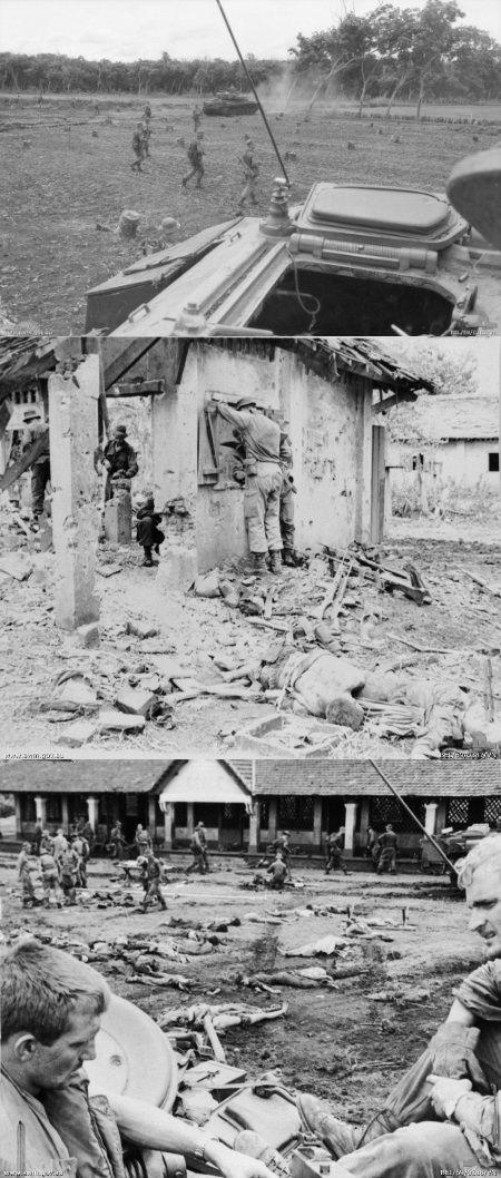 6-8 June 1969: Australia fights the Battle of Binh Ba. Vietnam War.
