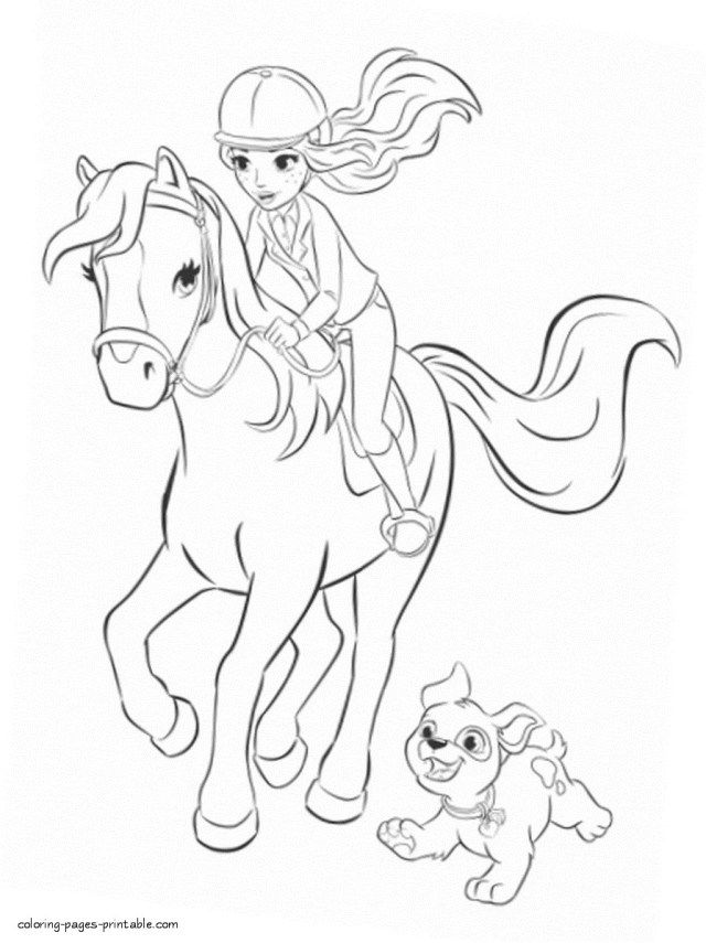 - 25+ Brilliant Image Of Lego Friends Coloring Pages - Entitlementtrap.com  Horse Coloring Pages, Lego Friends, Lego Friends Party