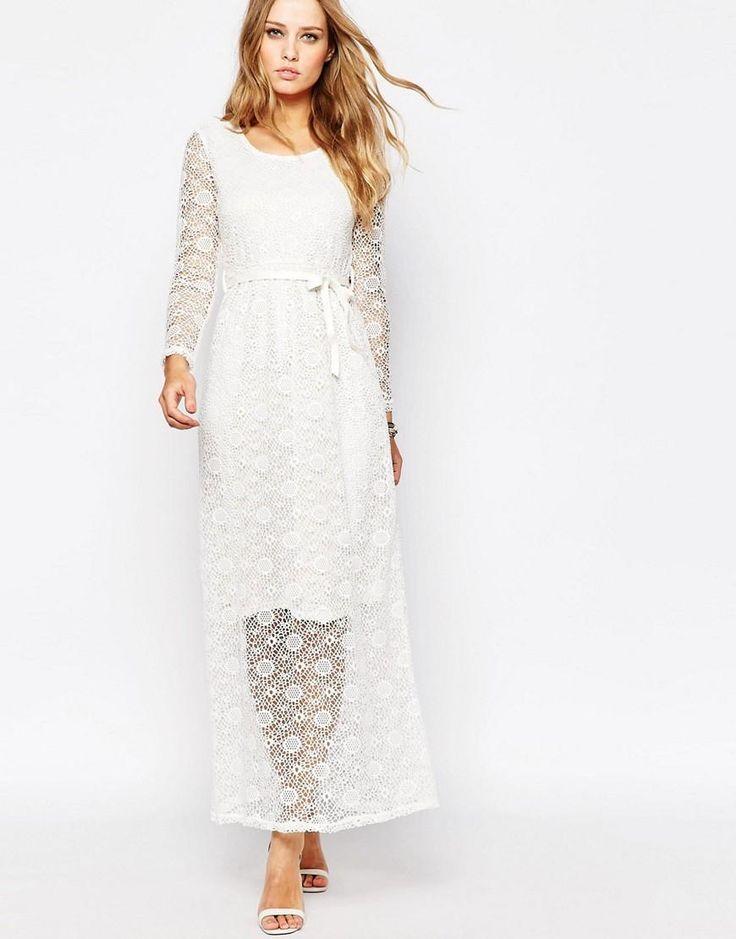 Ax paris sleek bandeau dress white.